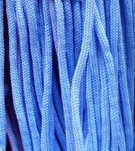 Шнур 36 Ф круглый диам. 4,5 мм голубой (43)