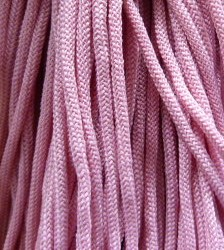 Шнур 36 Ф круглый диам. 4,5 мм розовый (19)