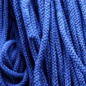 Шнур 90 Ф круглый (акрил) диам. 9,0 мм  т. синий (75) (уп. 100 м.)