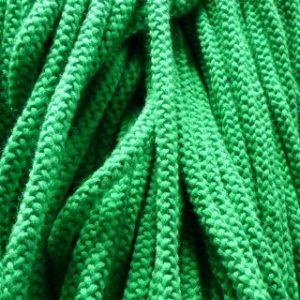 Шнур 90 Ф круглый (акрил) диам. 9,0 мм  зеленый (уп. 100 м.)