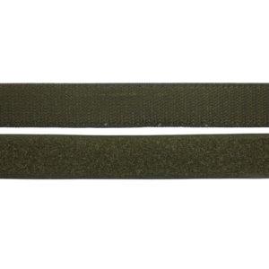 Лента контактная пришив. 50 мм 25м, Комплект, черный