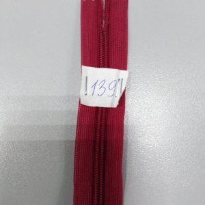 Молния потайная №3 50см Е-139 светлое бордо