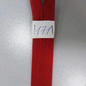 Молния потайная №3 50см Е-171 красный