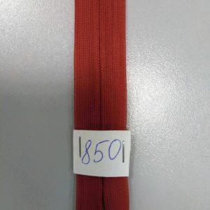 Молния потайная №3 50см Е-850 кирпичный