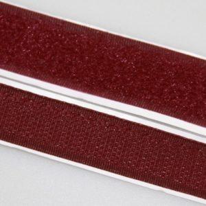 Лента контактная пришив. 25 мм 25м, Комплект, 179-бордо