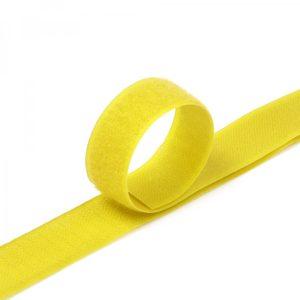 Лента контактная пришив. 50 мм 25м, Комплект, 110-желтый