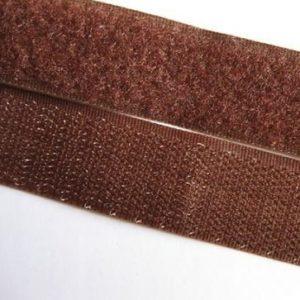Лента контактная пришив. 50 мм 25м, Комплект, 299-коричневый