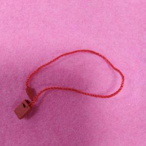 Микропломба-1085 (1000 шт/упак), 15 см, 148-красный