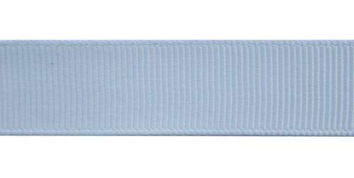 Лента репсовая 25мм №187 голубой (уп 33м)