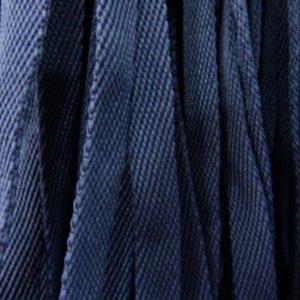 Шнур плоский 15 мм, рул-100м, темно-синий №26 лайт