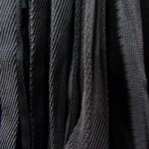 Шнур плоский 15 мм, рул-100м, черный лайт