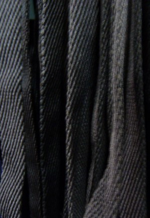 Шнур плоский 10 мм, рул-100м, черный
