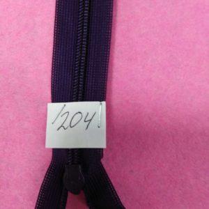 Молния потайная №3 50см ДС-204 фиолетовый