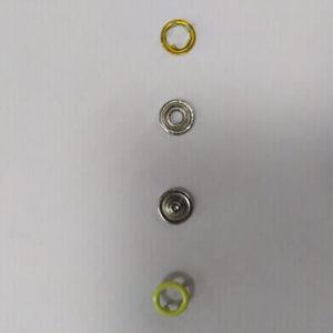 Кнопка рубашечная «Е-Е» 9,5мм желтый (уп.1440) 05