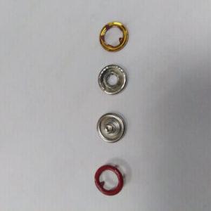 Кнопка рубашечная «Е-Е» 9,5мм красный (уп.1440)