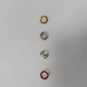 Кнопка рубашечная «Е-Е» 9,5мм красный (уп.1440) 028