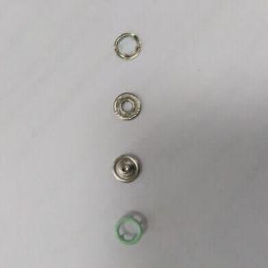 Кнопка рубашечная «Е-Е» 9,5мм св. зеленый (уп.1440) 012