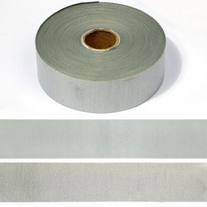 Светоотражающая лента 50 мм 100м/уп (50%ПЭ/50%хлопок) А101 серый