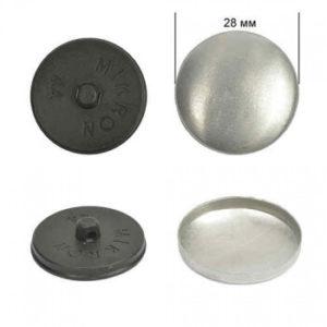 Заготовка №44 (28 мм), пластик, черный, уп-250 шт