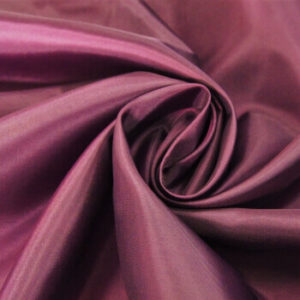 Ткань подкладочная 190Т, 100%ПЭ, 1105 темное бордо (рул-100м)