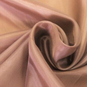 Ткань подкладочная 190Т, 100%ПЭ, 1357 темно бежевый (рул-100м)