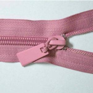 Молния спираль №5 50см Е-070 темно-розовый