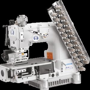 12-игольная швейная машина Jack-8009VCDI-13064-32P VWL (Голова)