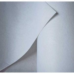 Флизелин для вышивки 80гр/м2 неклеевой отрывной 90 см, 100 м/рул, белый