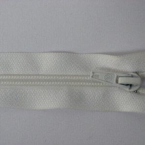 Молния спираль №5 65 см белый