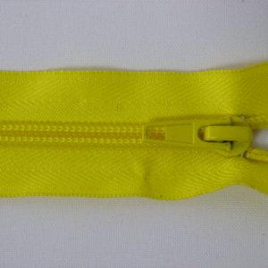 Молния спираль №5 40 см желтая