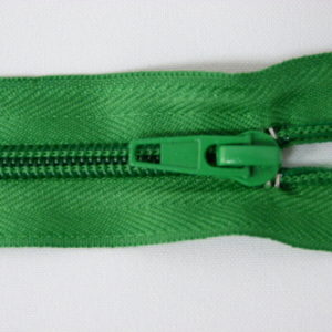 Молния спираль №5 40см зеленый