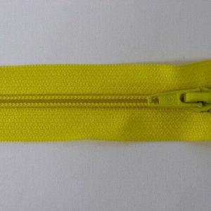 Молния спираль №5 75 см, «S», 110-желтый