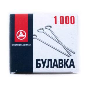 Булавки с «ушком», 30 мм (1000шт/уп)