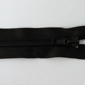 Молния спираль №5 55 см «S», 322-черный
