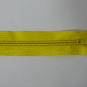 Молния спираль №5 60 см «S», 110-желтый