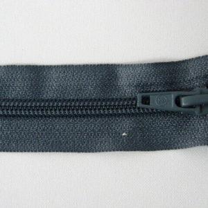 Молния спираль №5 80 см «S» 321-серый