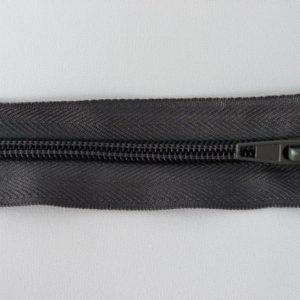 Молния спираль №5 55см ДС-361 темно-серый