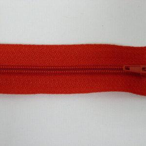 Молния юбочная 20 см №257 ДС красный