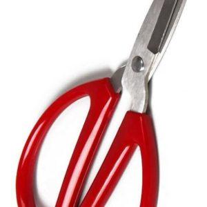 Ножницы с круглыми пластиковыми ручками JZ 7 см
