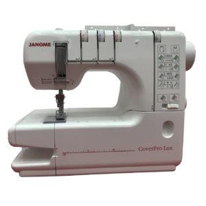 Плоскошовная машина JANOME CoverPro LUX