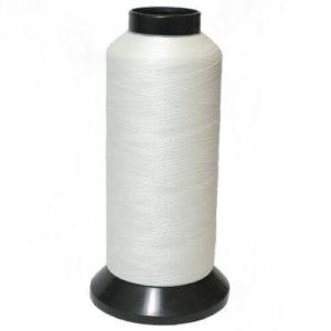 Нитки люминисцентные вышивальные п/э 150 D/2 3000ярд JH-X-02 белый