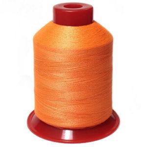 Нитки люминисцентные вышивальные п/э 150 D/2 3000ярд JH-X-05 оранжевый