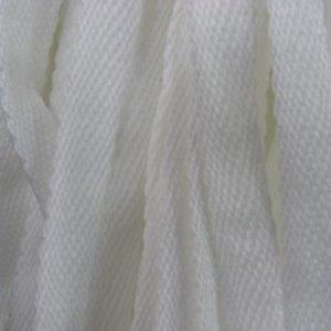 Шнур плоский 15 мм, рул-100м, белый (Беларусь)