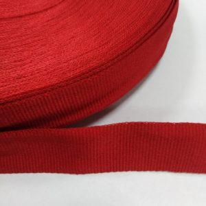 Лента репсовая 30мм (100м/рул) красный №115