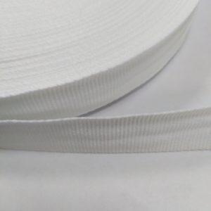 Лента репсовая 20мм (50м/рул) белая