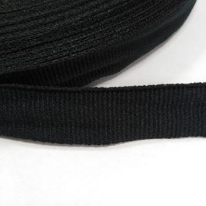 Лента репсовая 20мм (50м/рул) черная