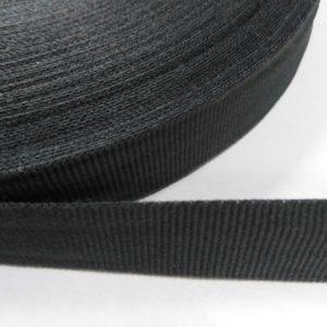 Лента репсовая 20мм (50м/рул) темно-серый №162