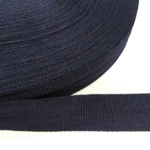 Лента репсовая 30мм (100м/рул) темно-синий №26