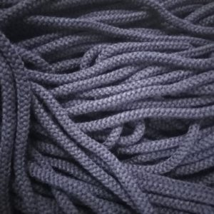 Шнур Арт.70 круглый 7 мм черный рул-100м (Беларусь)