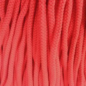 Шнур Арт.70 круглый 7 мм красный рул-100м (Беларусь)